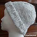 Comment adapter un bonnet tricoté à son tour de tête?