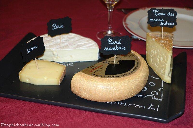 Pour le plateau de fromages