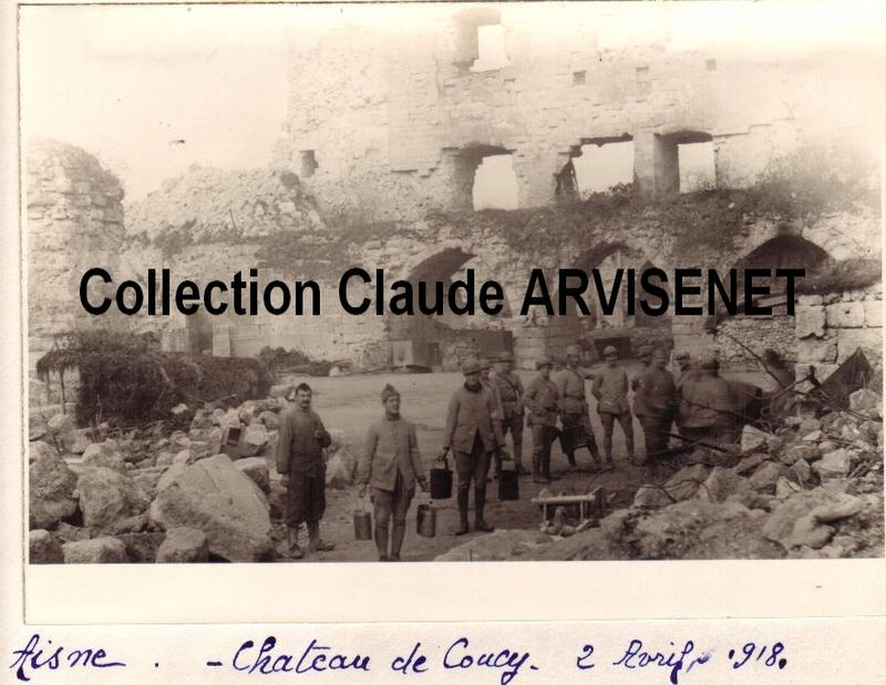 AISNE - Chateau de COUCY