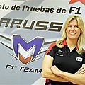 Maria De Villota perd un oeil des suite de son accident de Formule 1 (CPA)