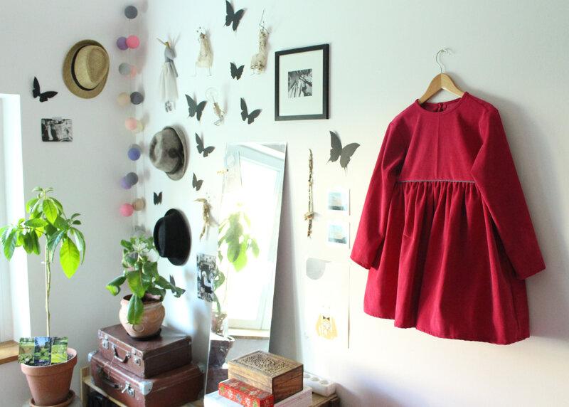 La fabrique de Rilou- la robe rose de Capucine (2)