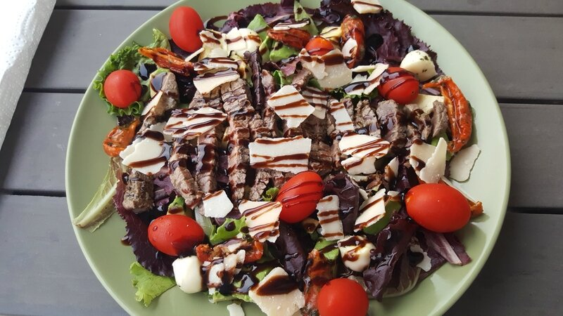 salade de boeuf à l'italienne