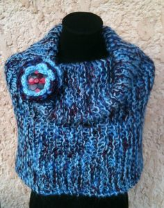 snood bleu 1