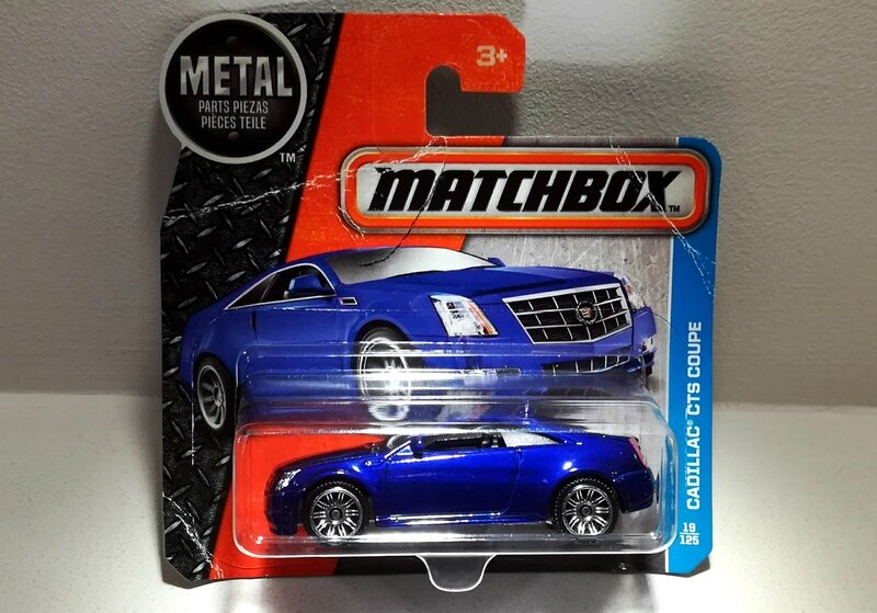 Cadillac CTS coupe (Matchbox)