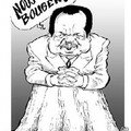 Paul Biya en caricature