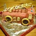 Gâteau pin pon !