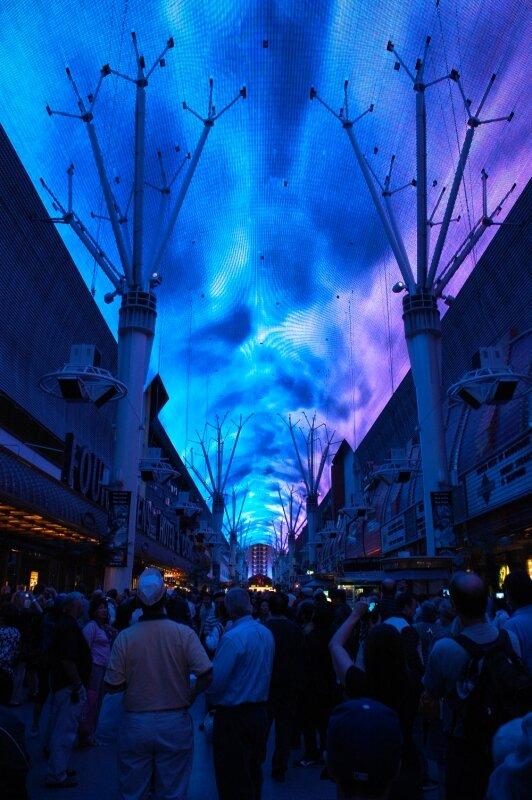 Las Vegas : Spectacle son et lumière