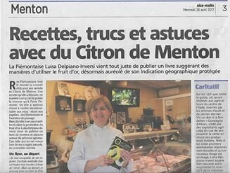 article nice matin citron