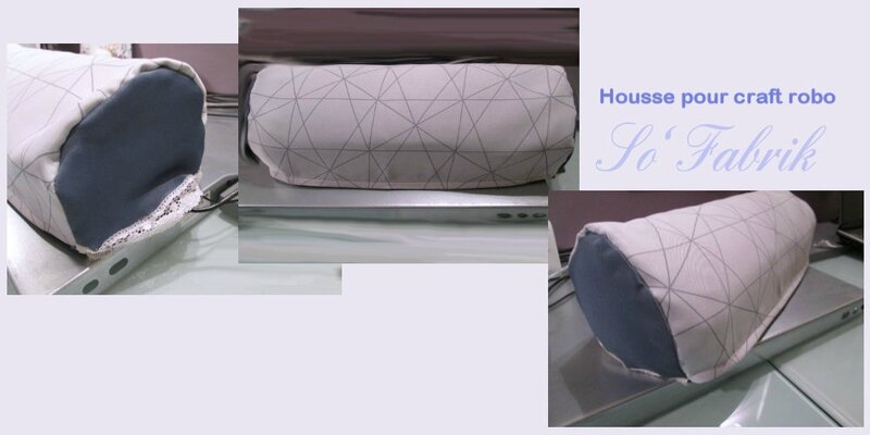 Couture housse craft robo