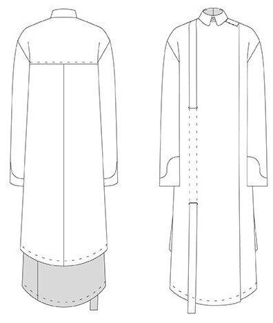 DP Studio - 602-chemise-longue-asymetrique