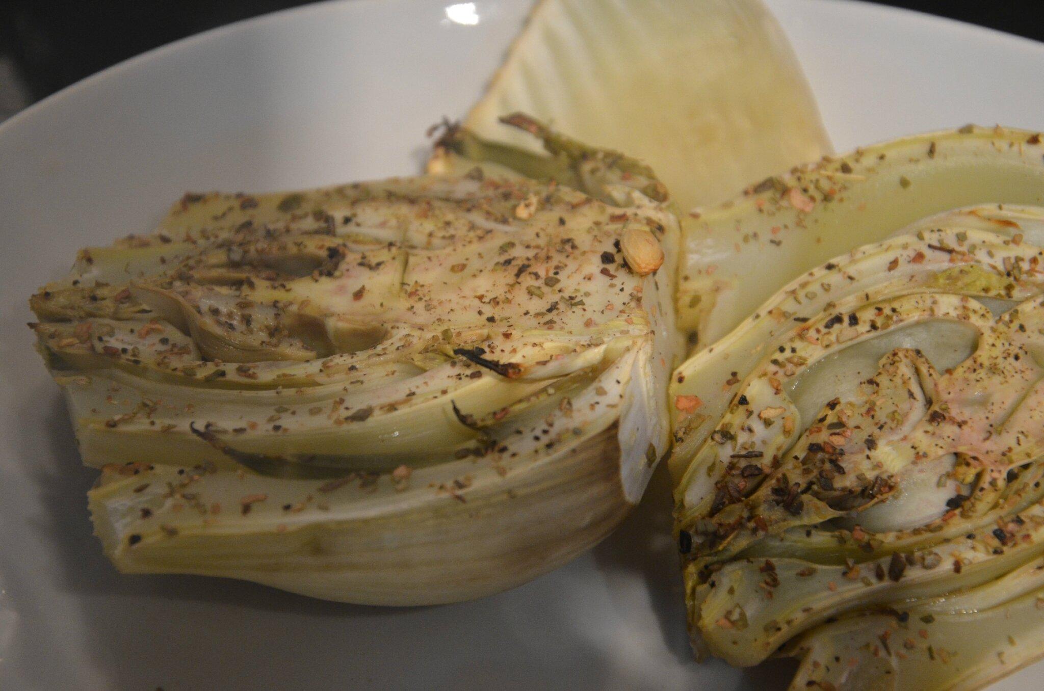 Fenouil en papillote la cuisine sans lactose - Comment couper un fenouil ...