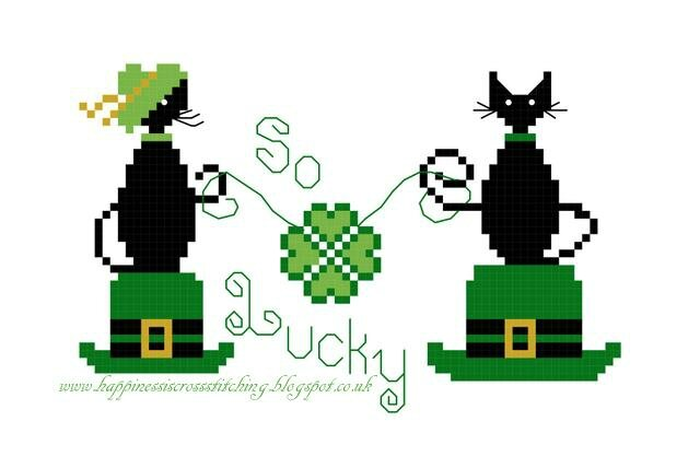 St Patricks Day Cross stitch pattern (low res)