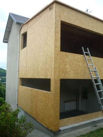 Isolation d 39 une maison et son extension rouen budget for Extension bois etage