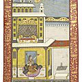Sarang ragini, deccan, early 18th century