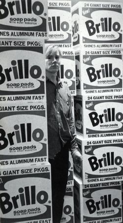 Warhol, 1964, Brillo boxes copie