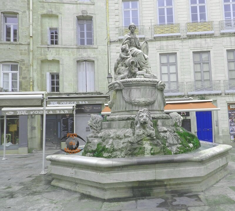 fontaine Montpellier 2