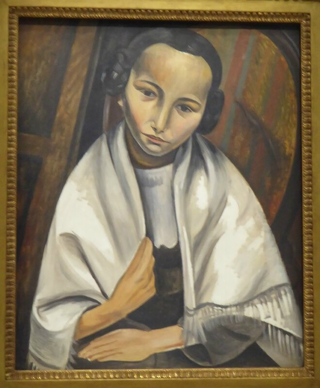 Derain Portrait de jeune fille 1914