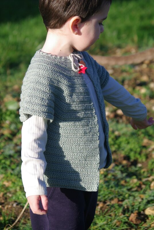 crocheter un gilet top-down