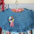 Crochet vintage # robe pour petite fille