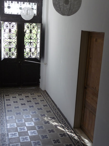 Carreaux de ciment villa clair matin for Carrelage hall d entree