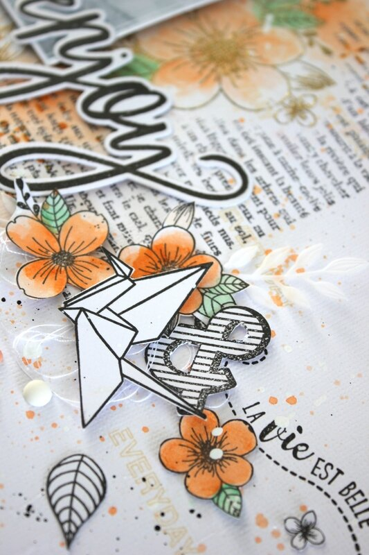 Mackenzie DT Florileges Design Page combo die clear Enjoy zoom 2