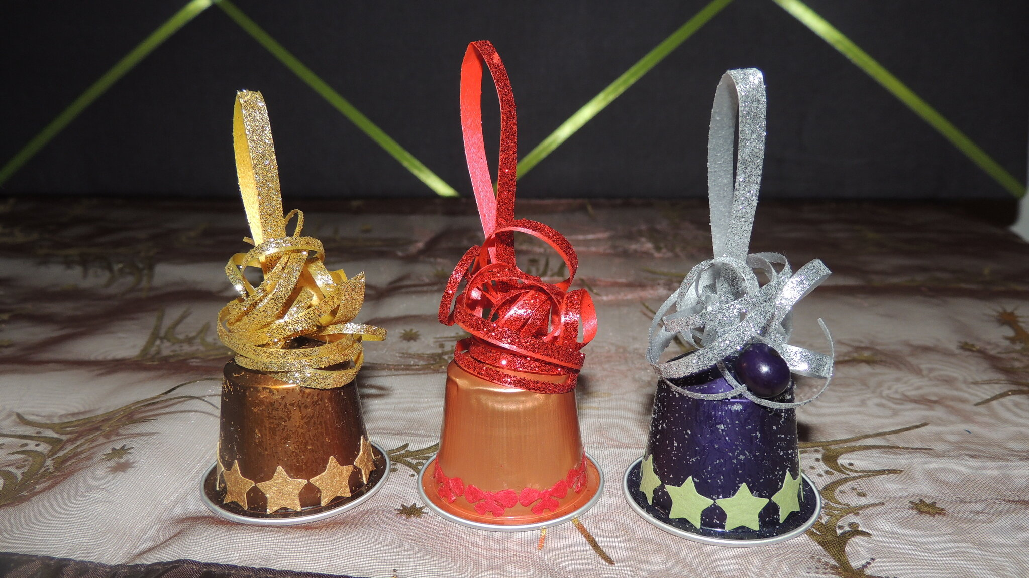Favori Petites Clochettes de Noël - L'île Ô Créas ZO36