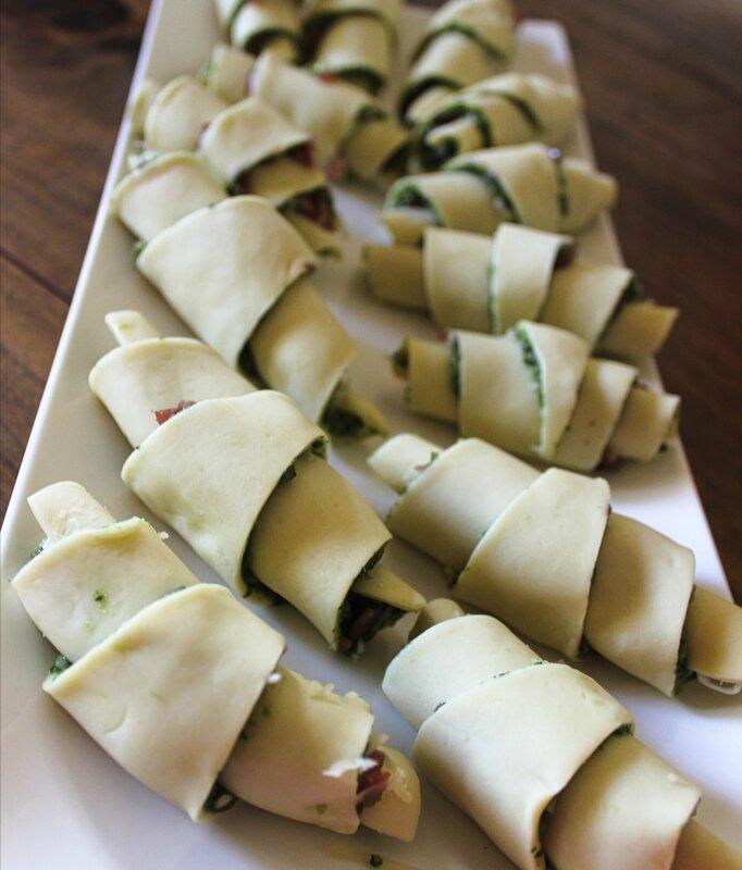 Croissant Pesto coppa comté1