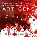 Exposition art contemporain à cerdon