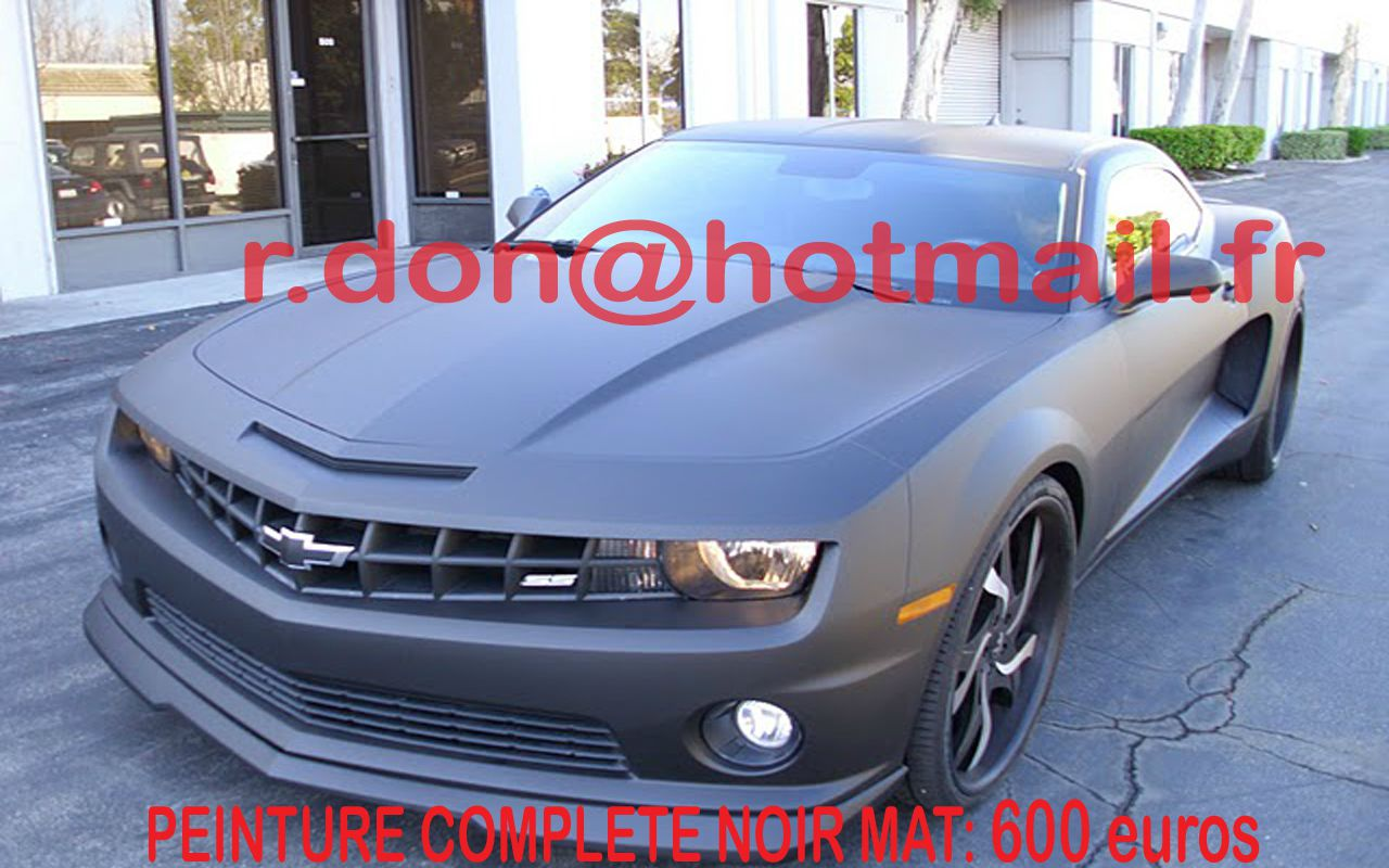 chrysler camaro prix vitre teintee acheter peinture. Black Bedroom Furniture Sets. Home Design Ideas
