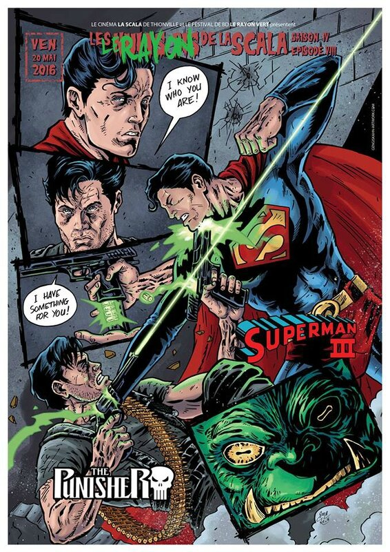 Superman vs Punisher (nuit du bis)
