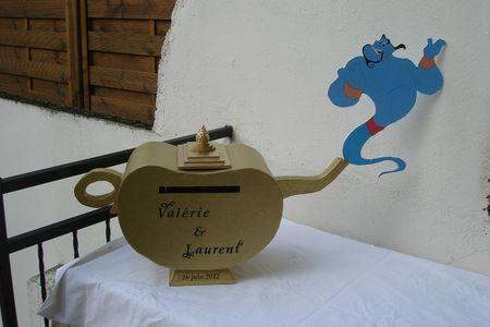 urne lampe d aladin Valerie et Laurent (8)