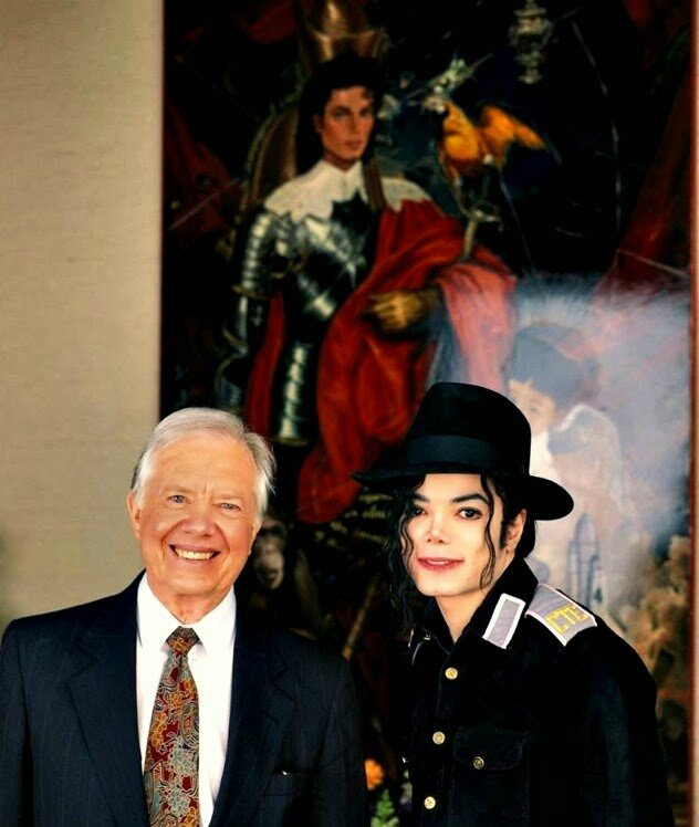 jimmy carter michael jackson