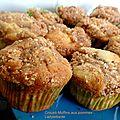 Crousti-muffins aux pommes