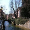 Annecy et son lac en mars