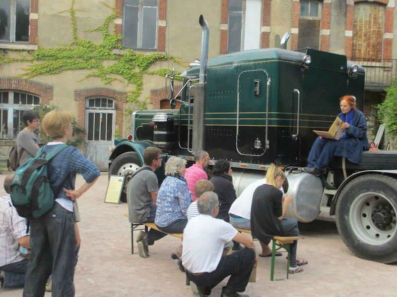 Marie-France Marbach au camion