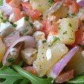 Salade anti-flirt aux anchois