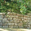 Oppidum (Ville) d'Entremont (Aix-en-Provence), 175 av. J.-C., muraille