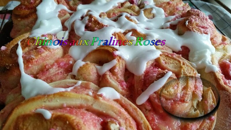 Chinois aux Pralines Roses