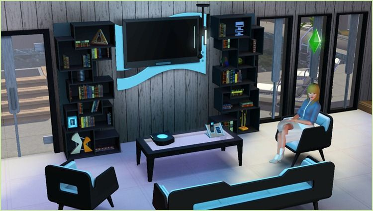 Test les sims 3 inspiration loft le journal du for Sims 3 salon moderne