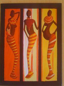 tableau africaine portrait blog