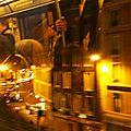 Métro aérien Paris de nuit