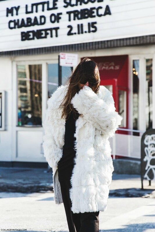 New_York_Fashion_Week-Fall_Winter_2015-Street_Style-NYFW-Caroline_De_Maigret-Fur_Coat--7