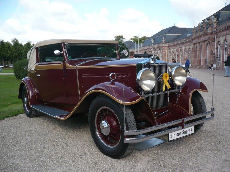 SIMSON Supra type A cabriolet A 1932 Schwetzingen (1)