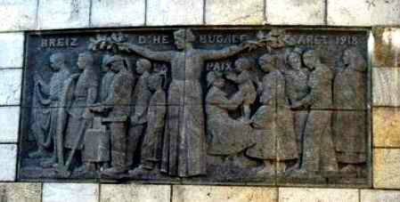 Bas relief St Anne d Auray