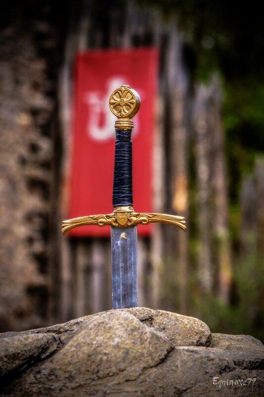 Phystorique histoire l'épée dans le temps Grecs, romains, carolingiens, Vikings, Excalibur, chevaliers puy du fou (5)