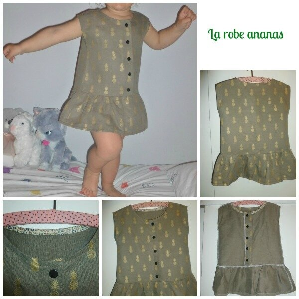 La robe ananas 2