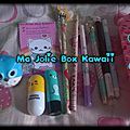 Haul chez ma jolie box kawaii ( test boutique )