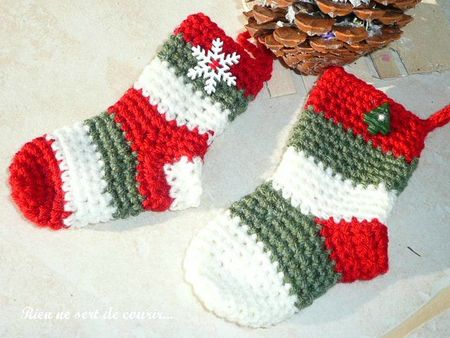 chaussettes crochet (1)