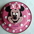 Gâteau minnie - minnie mouse cake
