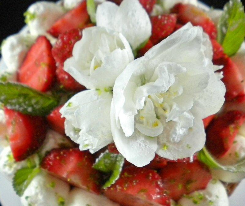 Le Victoria sponge cake aux fraises 3